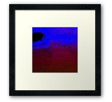 Digital Water Patterns 11 Framed Print