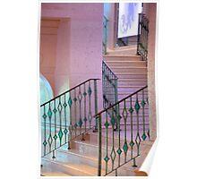 Pink Stairway _ Atlantis Poster
