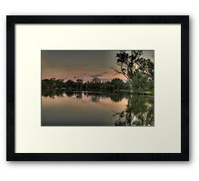 River Dance - Murray River, NSW Australia - The HDR Experience Framed Print