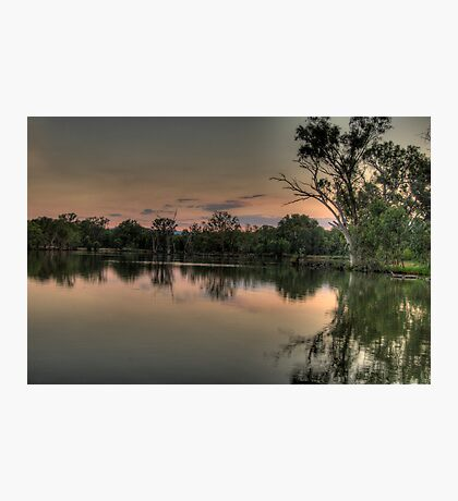 River Dance - Murray River, NSW Australia - The HDR Experience Photographic Print