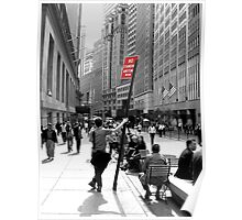No standing in Wall Street Poster