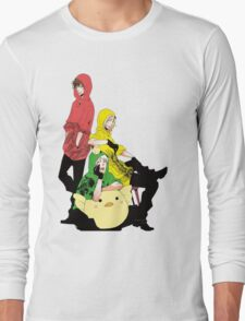 bad touch trio Long Sleeve T-Shirt
