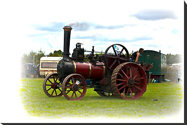 Steam Traction Engine by Trevor Kersley