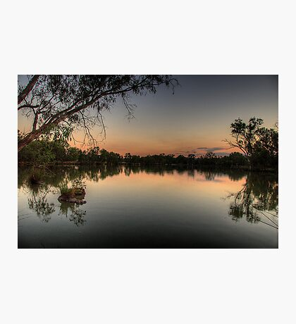Meditation - Murray River, NSW Australia - The HDR Experience Photographic Print