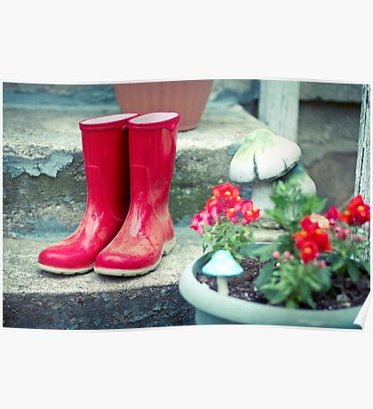 Red Galoshes Poster