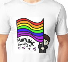 Marriage Equality Dan Unisex T-Shirt