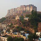 Jodhpur Fort, Rajasthan, India by RIYAZ POCKETWALA