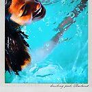 Smiling pool Polaroïd by Laurent Hunziker