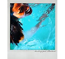 Smiling pool Polaroïd Photographic Print