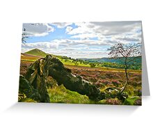 Hawnby Moor #4 Greeting Card