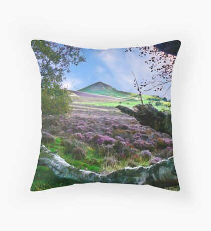 Hawnby Moor #7 Throw Pillow