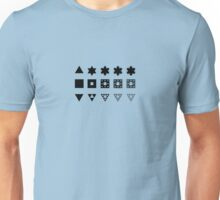 Three fractals (light clothes) Unisex T-Shirt