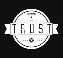 Trust Thy Legs - Riders Tee Kids Tee