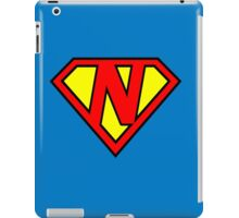 Super N iPad Case/Skin