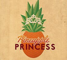 Pineapple Princess by woahjonny