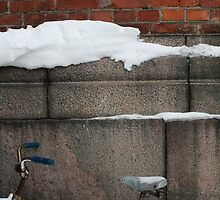Helsinki Winter Bicycle by Francisco Vasconcellos