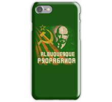 Albuquerque Propaganda - iPhone, T-Shirts and Prints iPhone Case/Skin