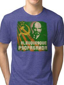 Albuquerque Propaganda - iPhone, T-Shirts and Prints Tri-blend T-Shirt