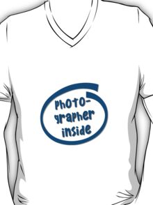 Photographer Inside T-Shirt
