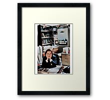 dana scully - x files Framed Print