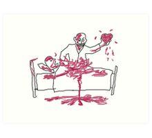 Giles' Doodle from Hush [Buffy the Vampire Slayer] Art Print
