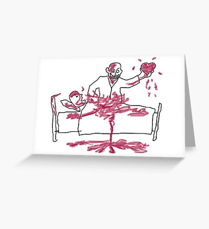 Giles' Doodle from Hush [Buffy the Vampire Slayer] Greeting Card