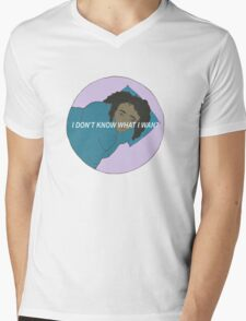 I Don't Know What I Want Girl Mens V-Neck T-Shirt