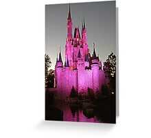 Castle Magic at Twilight  Greeting Card
