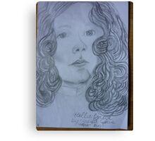 TEENAGE DOLLY Canvas Print