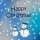 Christmas card-Snowmen by sarnia2