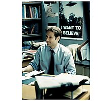 #fox Mulder - XFILES Photographic Print