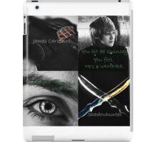 James Carstairs - Shadowhunter iPad Case/Skin