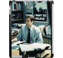 #fox Mulder - XFILES iPad Case/Skin