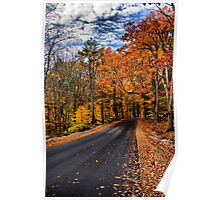 NH Autumn Road 3 Poster