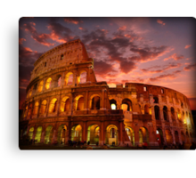 Colosseum Canvas Print
