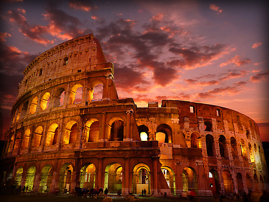 Colosseum by Luke Griffin