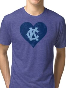 I Heart KC Tri-blend T-Shirt