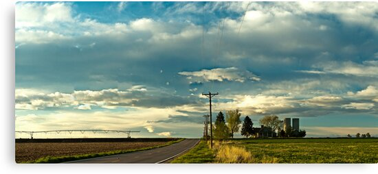 Great Plains Farmland by nikongreg