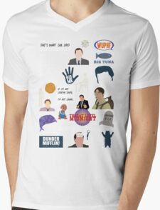 The US Office Collection Mens V-Neck T-Shirt