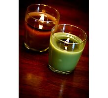 Holiday Candles Photographic Print