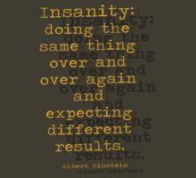 INSANITY by Steve Wilbur