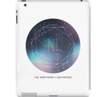 The Northern Lightnings - Constellation Design iPad Case/Skin