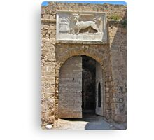 The Lion of St Mark Canvas Print