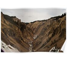 Canyon of Yellowstone Poster