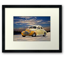 1941 Chevrolet 'Special Deluxe' Coupe Framed Print