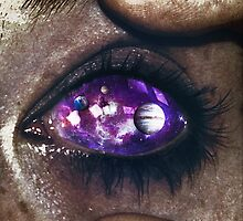 Ojos color galaxia by seamless