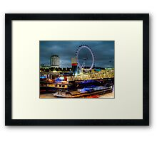 Fairground Attraction Framed Print