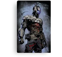 Signed Arkham Knight Canvas Print
