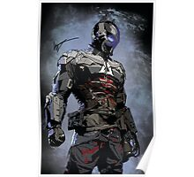 Signed Arkham Knight Poster