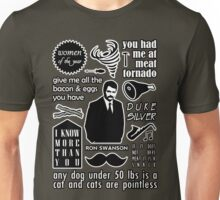 Swanson Quotes Unisex T-Shirt